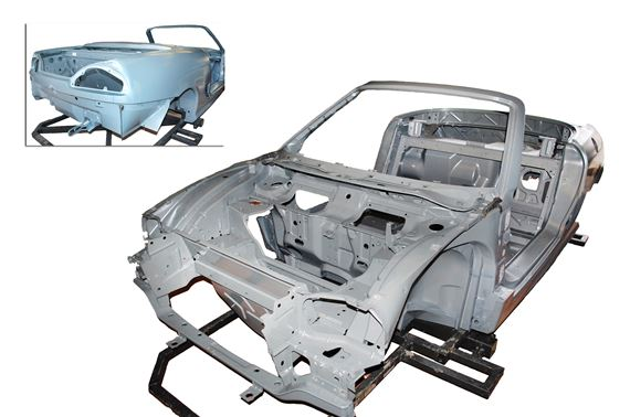 Bodyshell Assembly - MGTF - Genuine MG Rover