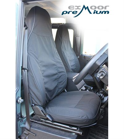 Exmoor Trim - Defender - Front Canvas Seat Covers - 2013 Puma