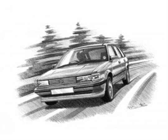 MG Maestro Efi Personalised Portrait in Black & White - RP1629BW