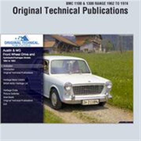 USB ebook - Original Technical Publications - BMC 1100 and 1300 Range 1962-1974