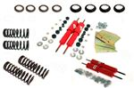 Koni Front and Rear (Conversion) Shock Absorber Kit - Adjustable - with Standard Springs - TR4A-6