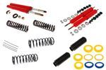 Koni Front Insert and Rear Shock Absorber Kit - Adjustable Off Car - with Standard Springs and Poly Insulators - Stag