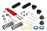 Front Suspension Legs Overhaul Kit with Koni Off-Car Adjustable Inserts - Poly Insulators - Stag