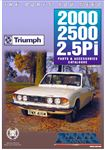 Rimmer Bros Triumph 2000/2500/2.5Pi Catalogue Edition 2.2