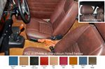 TR4-6 Suffolk Seats with Head Rests - Leather - Pair