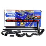 Samco Silicone Radiator Hose Kit - Midget 1275 1967 on - Black