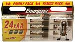 Energizer Alkaline Batteries Family Pack - 24 1.5v AA - LR6