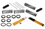 Spax KSX Front and Rear Shock Absorber Kit - Adjustable - with Standard Springs - Estate