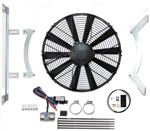 Revotec Electronic Cooling Fan Conversion Kit - Jaguar E Type Series 1 - Negative Earth