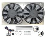 Revotec Electronic Cooling Fan Conversion Kit - Jaguar E Type Series 2