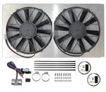 Revotec Electronic Cooling Fan Conversion Kit - Jaguar E Type Series 3
