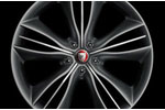 Front Alloy Wheel - Single - Mataiva - 9J x 20 - C2D10951 - Genuine Jaguar