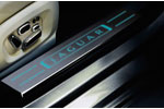 Jaguar XJ Illuminated Boot Finisher & Sill Tread Plates