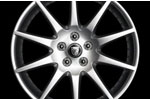 Front Alloy Wheel - Single - Meru - 8J x 18 - C2D4497 - Genuine Jaguar