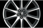 Rear Alloy Wheel - Single - Aleutian - 10J x 19 - C2D4500 - Genuine Jaguar