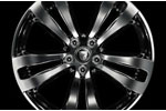 Front Alloy Wheel - Single - Toba Polished - 9J x 19 - C2D38658 - Genuine Jaguar