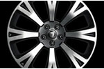 Front Alloy Wheel - Single - Orona Chrome - 9J x 20 - C2D7285 - Genuine Jaguar
