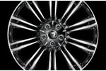 Front Alloy Wheel - Single - Kasuga Polished - 9J x 20 - C2D9177 - Genuine Jaguar