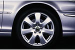 Alloy Wheel - Single - Caymen - 17 x 7 - C2S26121 - Genuine Jaguar