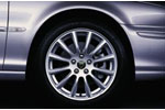 Alloy Wheel - Single - Andros - 17 x 7 - C2S26122 - Genuine Jaguar