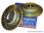 Performance Brake Disc Front (pair) - LR059122BPUR - Britpart