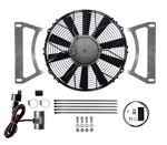 Revotec Electronic Cooling Fan Conversion Kit - Ford Escort MK1 and 2 - 12 inch Blowing Fan