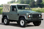 Exmoor Trim - Defender - 90 Inch 3/4 Body Fit Canvas Hoods