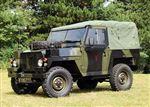 Full Hood Military FFR Khaki Canvas - EXT25010KHC - Exmoor