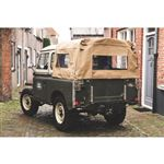 3/4 Hood Cab Fit WSW Khaki Canvas - EXT2515KHC - Exmoor