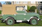 Cab Hood 7 Seat Flat Sand Canvas - EXT2722SAC - Exmoor