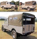 3/4 Hood Cab FIT WSW Khaki Canvas - EXT2814KHC - Exmoor