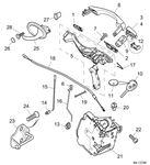 Rover 75 V8/MG ZT260 Front Door Handles and Locks
