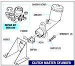 Triumph Spitfire Clutch Master Cylinder