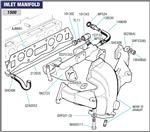 Triumph Spitfire Inlet Manifold (Standard) 1500