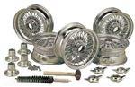 Triumph Spitfire MWS 60 Spoke Wire Wheel Conversion Kits - Set of 5