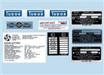 Triumph Spitfire Chassis Identification Plates