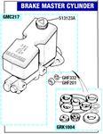 Triumph TR7 Brake Master Cylinder