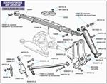 Triumph Vitesse Rear Suspension - NON-Rotoflex