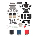 Triumph Vitesse Complete Interior Trim Kits - 1600 Models Saloon (RHD)
