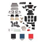 Triumph Vitesse Complete Interior Trim Kits - 1600 Models Saloon (LHD)