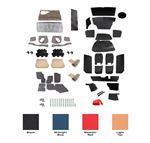 Triumph Vitesse Complete Interior Trim Kits - 1600 Models Convertible (LHD)