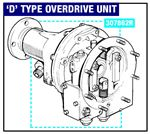 Triumph GT6 Overdrive and Fittings (D Type) Overdrive and Solenoid