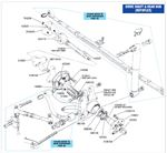 Triumph GT6 Driveshaft and Rear Hub - Rotoflex