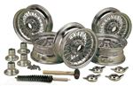 Triumph GT6 MWS 60 Spoke Wire Wheel Conversion Kits - Set of 5