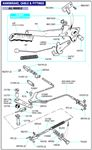 Triumph GT6 Front Handbrake Cable Fittings