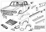 Triumph 2000/2500/2.5Pi Repair Panels