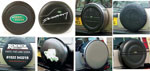 Discovery 2 Spare Wheel Covers