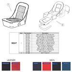 Midget MkI (G-AN-2) Seat Trim