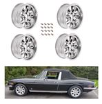 Triumph Stag Genuine 16 Inch Minilite Alloy (Aluminium) Road Wheels