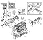 MGF and MG TF Cylinder Block Components